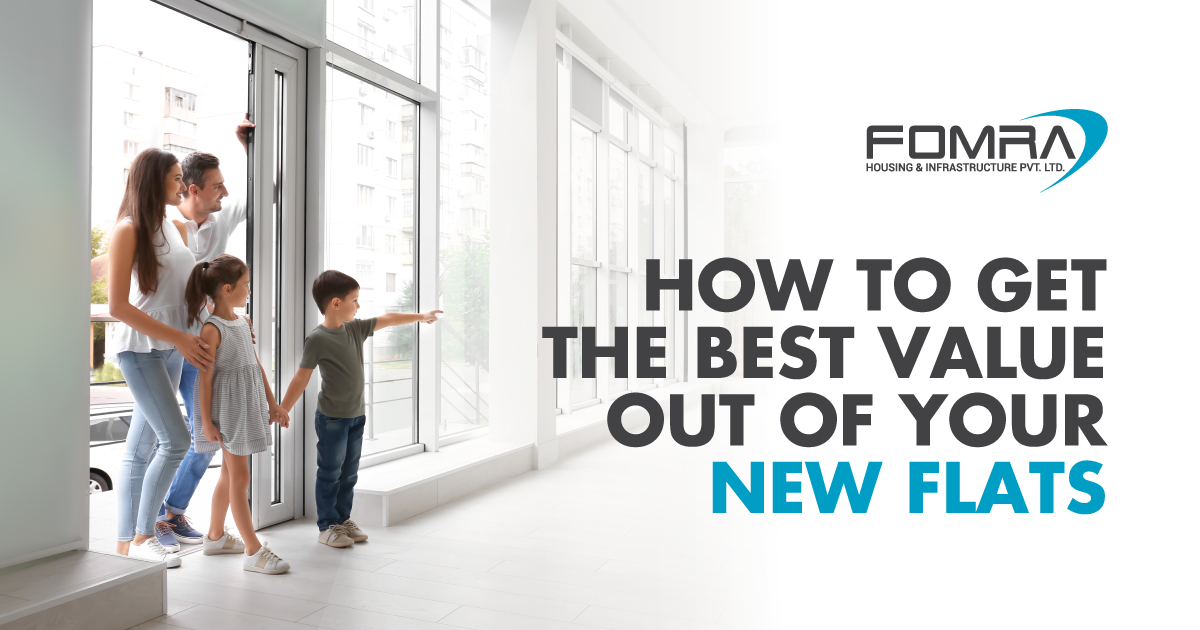 get the best value out of your new flats