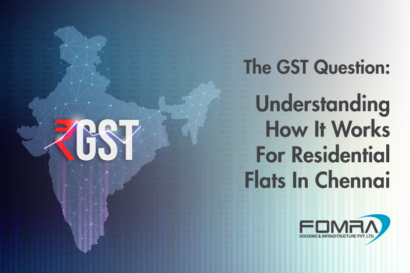 understanding how gst works for residential flats